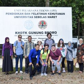 KHDTK Gunung Bromo UNS Terima Kunjungan dari University of Kentucky, US