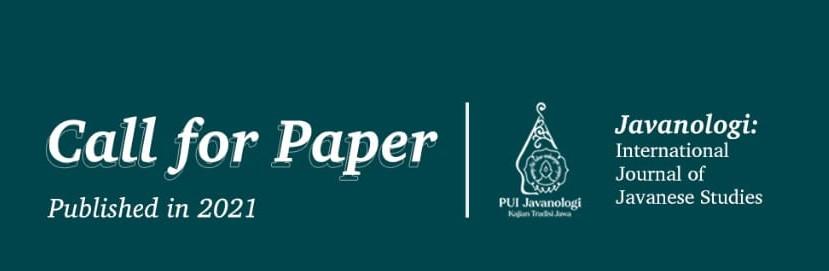 CALL FOR PAPERS! – Javanologi: International Journal of Javanese Studies