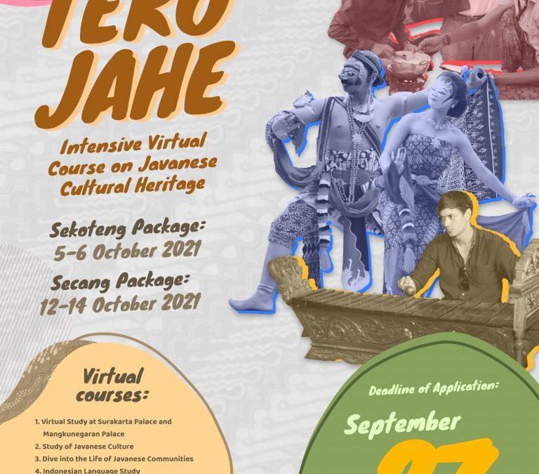 TEKO JAHE 2 Registration is OPEN!!
