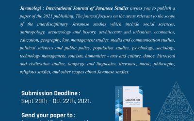 CALL 4 PAPER! Javanologi: International Journal of Javanese Studies IV No 2